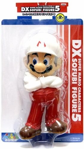 Super Mario Brothers BanPresto 9 Inch DX Series 5 Vinyl Figure Fire Mario [Arms Crossed]