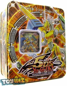 YuGiOh 5D's 2009 Wave 1 Collector Tin Set Power Tool Dragon [Leo's Dragon]