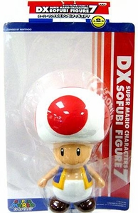 Super Mario Brothers BanPresto 9 Inch DX Series 7 Vinyl Figure Toad