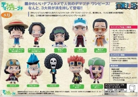 One Piece Bandai Super Deformed 2 Inch Mini Figure Vol. 3 Set of 10