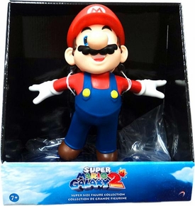 Super Mario Galaxy 2 Series 1 Super Size 9 Inch Vinyl Figure Flying Mario