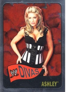 Topps CHROME WWE Heritage Trading Card Diva # 62 Ashley