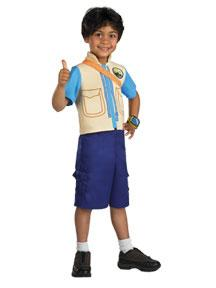 Dora the Explorer #6487 Diego Costume (Child Small 4-6 Size)