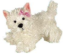 Lil'Kinz Mini Plush White Terrier
