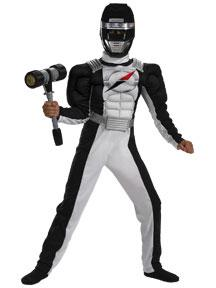 Power Rangers Operation Overdrive #6559 Black Ranger Quality Muscle Costume (Child Medium 7-8)