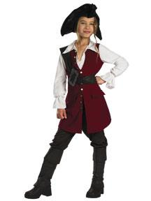 Pirates of the Caribbean Costume #6675L Elizabeth Pirate Deluxe (Child Small 4-6x)