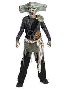 Pirates of the Caribbean Adult Costume #6679G Maccus Sharkman (Child Large 10-12)