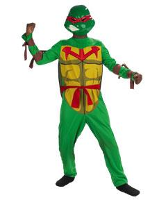 Teenage Mutant Ninja Turtles Costume #6690L Raphael Quality (Child Small 4-6x)