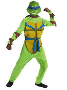 Teenage Mutant Ninja Turtles Costume #6692K Leonardo Quality (Child Medium 7-8)