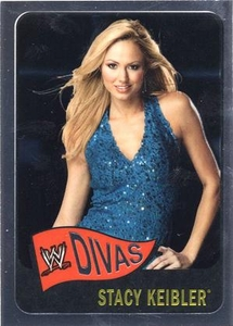 Topps CHROME WWE Heritage Trading Card Diva # 66 Stacy Keibler