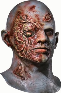 Dawn of the Dead #68114 Plaid Boy Latex Mask (One Size)