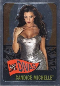 Topps CHROME WWE Heritage Trading Card Diva # 68 Candice Michelle