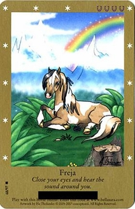 Bella Sara Horses Trading Card Game Series 2 Single Card Rare 68/97 Freja