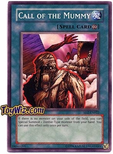 YuGiOh GX Zombie Madness Single Card Call of the Mummy SD2-EN022