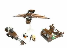 LEGO Star Wars LOOSE Complete Set #7139 Ewok Attack No Minifigs! No Box!
