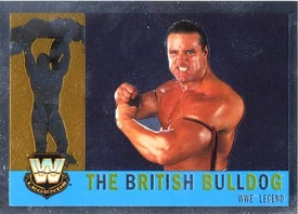 Topps CHROME WWE Heritage Trading Card Legend # 71 The British Bulldog