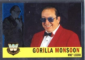 Topps CHROME WWE Heritage Trading Card Legend # 76 Gorilla Monsoon