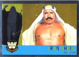 Topps CHROME WWE Heritage Trading Card Legend # 78 Iron Sheik