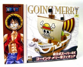 One Piece Banpresto DX PVC Straw Hat Pirate Ship Going Merry