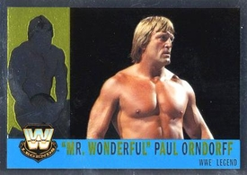 Topps CHROME WWE Heritage Trading Card Legend # 83