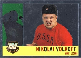 Topps CHROME WWE Heritage Trading Card Legend # 84 Nikolai Volkoff