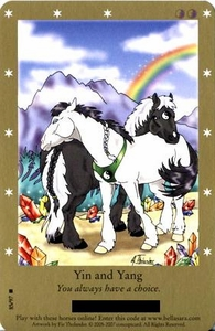 Bella Sara Horses Trading Card Game Series 2 Single Card Rare 85/97 Yin and Yang