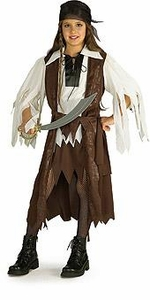 Halloween Costume Caribbean Pirate Queen (Child-Large Size) #881093