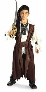 Halloween Costume Caribbean Pirate Child (Child-Medium Size) #881097