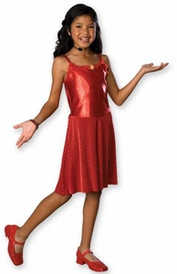 High School Musical Rubies Deluxe Gabriella Costume #882947 (Childrens Size Medium)