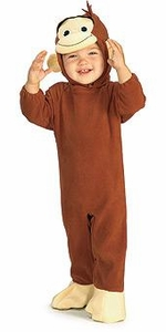 Curious George Kids Costume #885214  Curious George [Child]