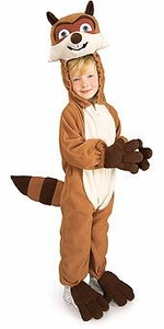 Over the Hedge Kids Costume Fleece R.J. Raccoon (Child) #885501
