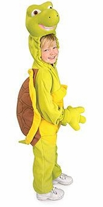 Over the Hedge Kids Costume Fleece Verne Turtle (Child Size Small) #885502