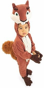 Over the Hedge Kids Costume Fleece Hammy Squirrel (Toddler Size) #885503