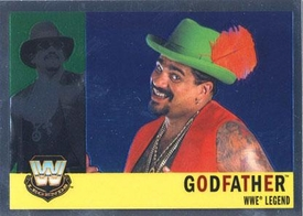 Topps CHROME WWE Heritage Trading Card Legend # 89 Godfather