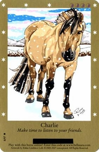 Bella Sara Horses Trading Card Game Series 2 Single Card Common 8/97 Charlie