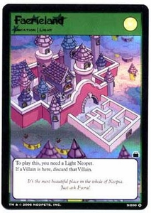Neopets Trading Card Game Travels in Neopia Holofoil Single Card Faerieland #9