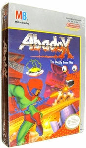 Nintendo Entertainment System NES Factory Sealed Cartridge Game Abadox The Deadly Inner War