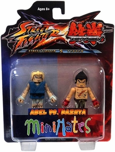 Street Fighter X Tekken Minimates Series 2 Mini Figure 2-Pack Abel vs Kazuya