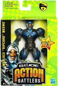 GI Joe The Rise of Cobra Action Battler Action Figure Ripcord [Accelerator Suit]
