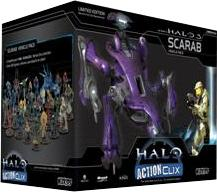 Halo ActionClix Trading Miniature Figure Game Deluxe Figure Scarab NOT A TOY!