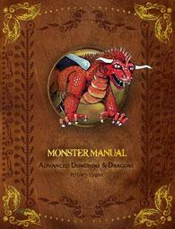 AD&D Advanced Dungeons & Dragons 1st Edition Premium Reprint Monster Manual