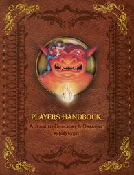 AD&D Advanced Dungeons & Dragons 1st Edition Premium Reprint Player's Handbook