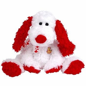 Ty February 2005 Beanie Baby of the Month Adonis the Dog