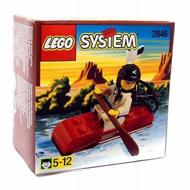 LEGO System Set #2846 Indian Kayak