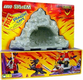 LEGO System Set #6099 Traitor Transport with Free Dragon Cave