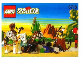 LEGO System Set #6718 Rain Dance Ridge