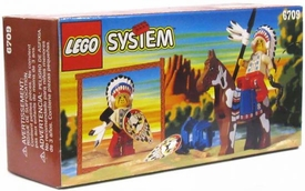 LEGO System Set #6709 Wild West Tribal Chief