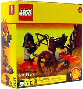 LEGO System Exclusive Shell Station Mini Figure Set #2538 Crossbow Flamer