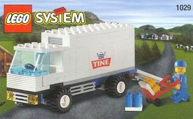 LEGO System Set #1029 Milk Delivery Truck