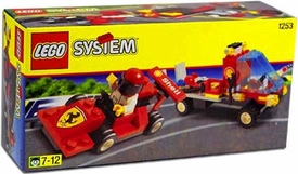 LEGO System Set #1253 Shell Car Transporter with Ferrari Race Car